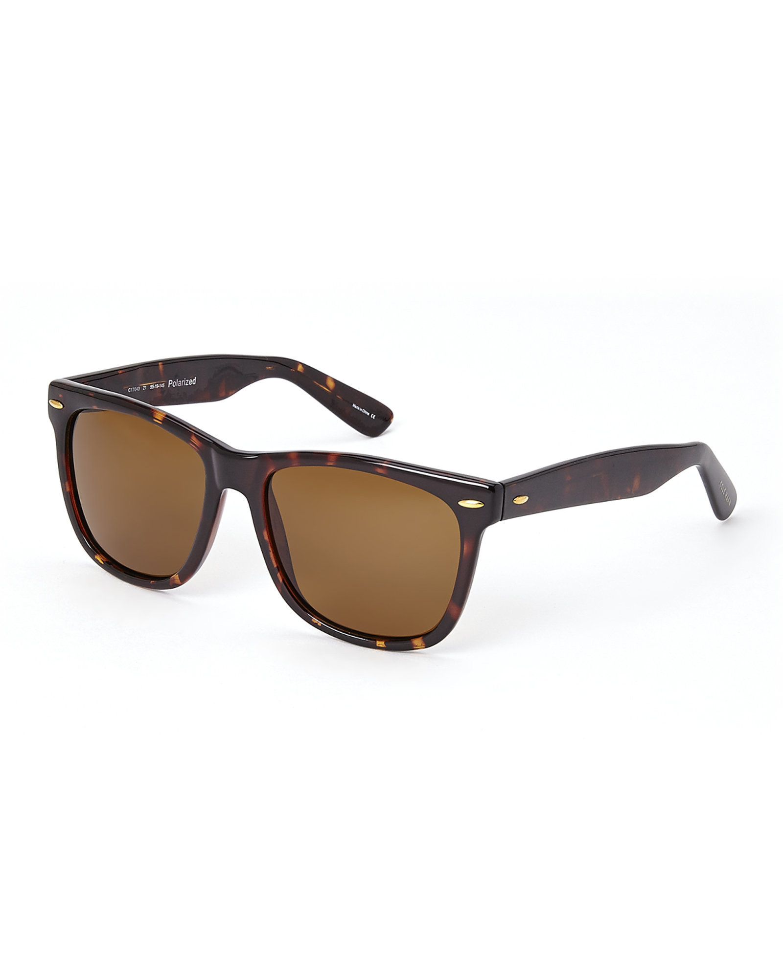 d87b40eba4504 Cole Haan Tortoiseshell-Look C17043 Wayfarer Sunglasses in Brown for ...