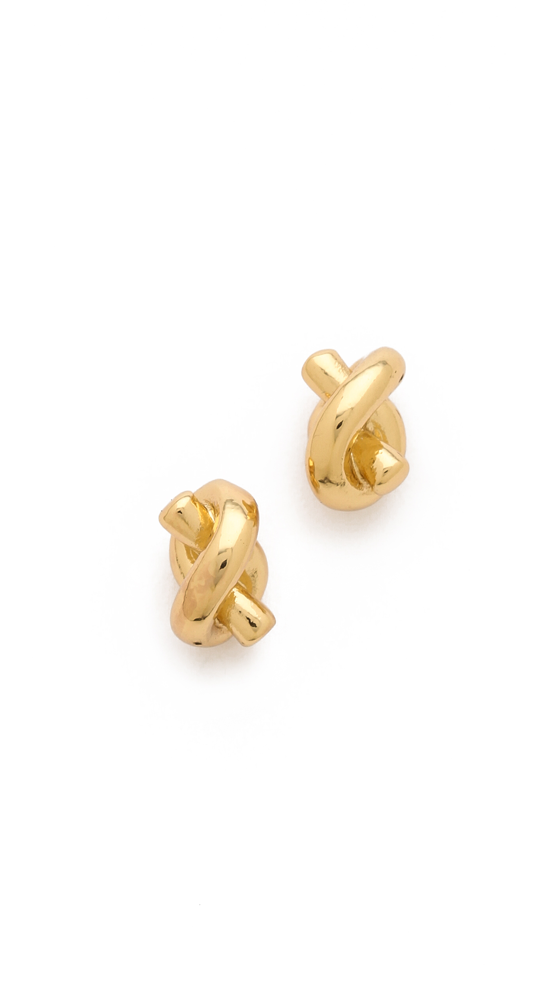 kate spade sailor knot earrings kate spade sailor s knot stud earrings in gold lyst 6284