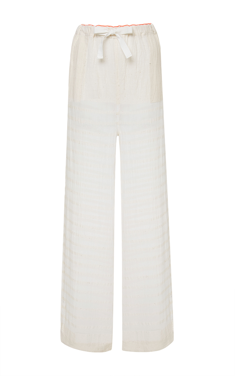 Lemlem White Cotton Gauze Pants in White | Lyst