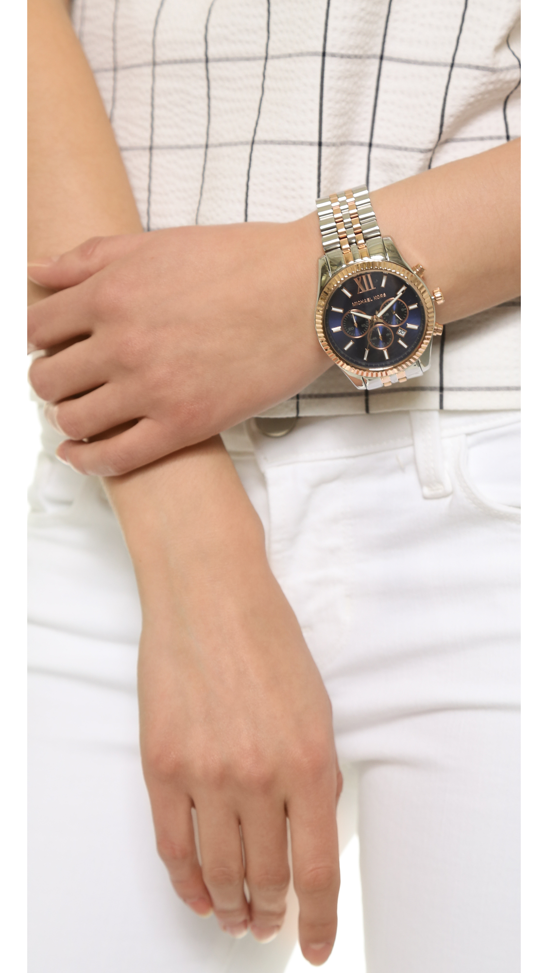 0239a9b8cfc6 Gallery. Previously sold at  Shopbop · Women s Gold Watches Women s Michael  Kors Lexington