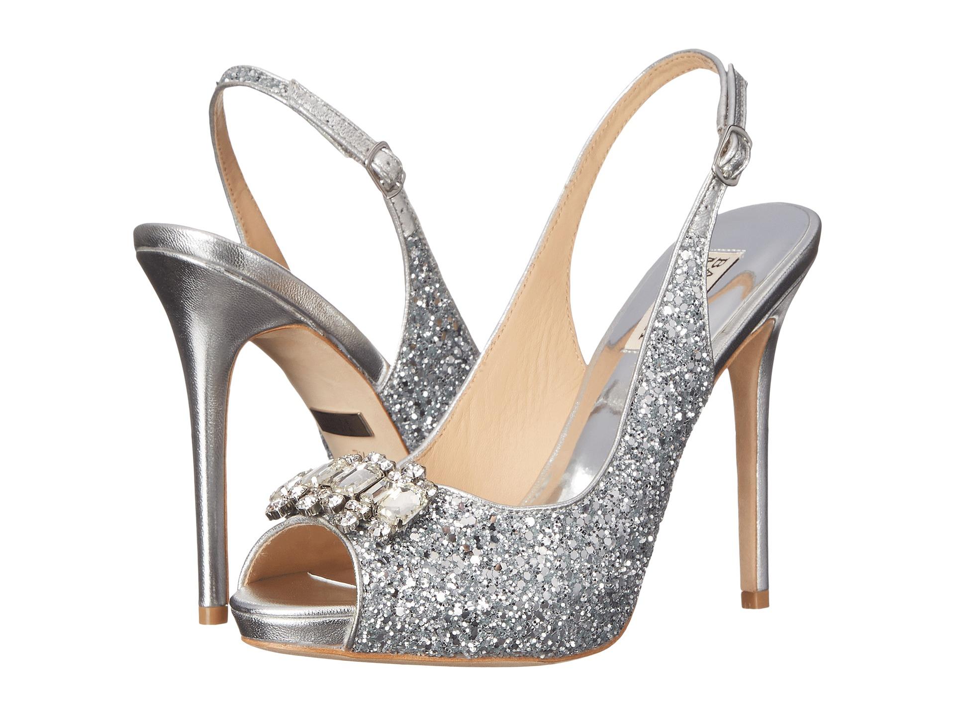 Lyst Badgley Mischka Clark Embellished Ankle Strap