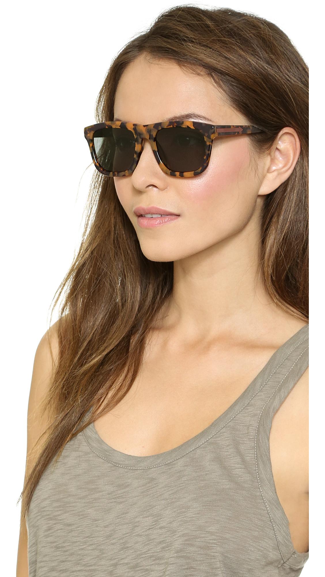 6bfb1fff607 Karen Walker Special Fit Deep Freeze Sunglasses in Brown - Lyst