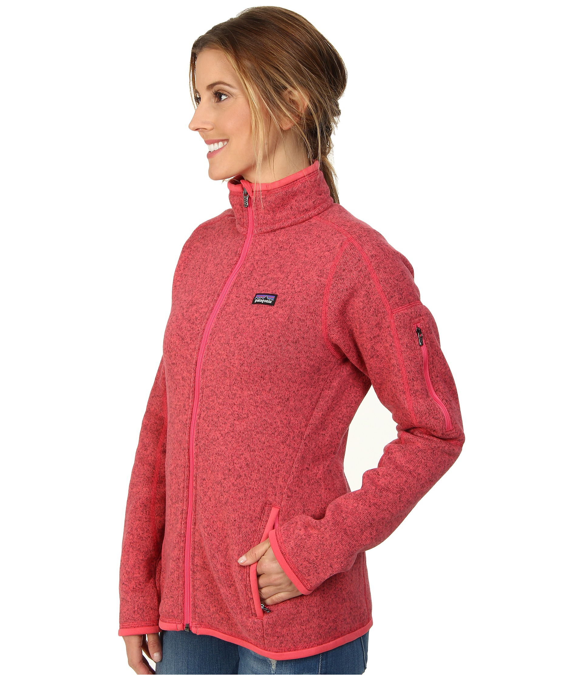 Patagonia Better Sweater® Fleece Jacket in Pink | Lyst