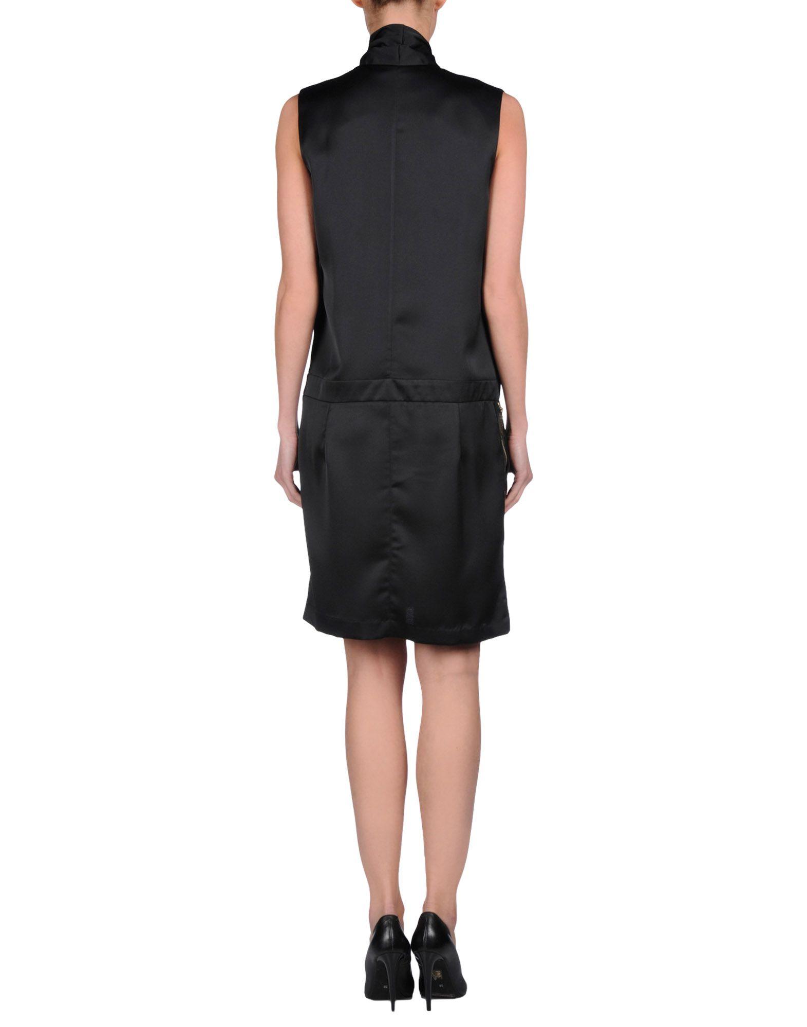 lyst hotel particulier short dress in black. Black Bedroom Furniture Sets. Home Design Ideas