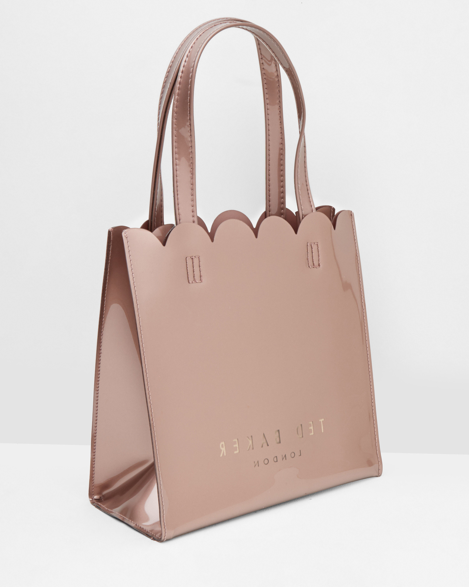 Ted Baker Scallop Edge Large Shopper Bag in Pink - Lyst d63fa1312