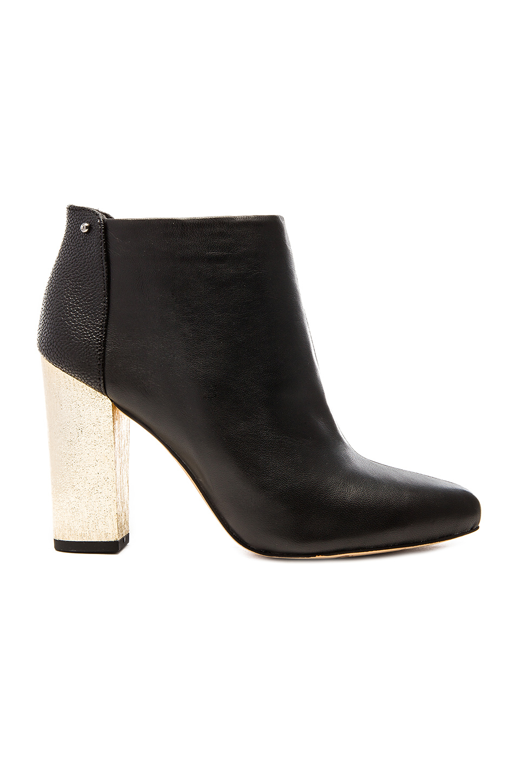 Sam Elderman Velvet Black Shoes