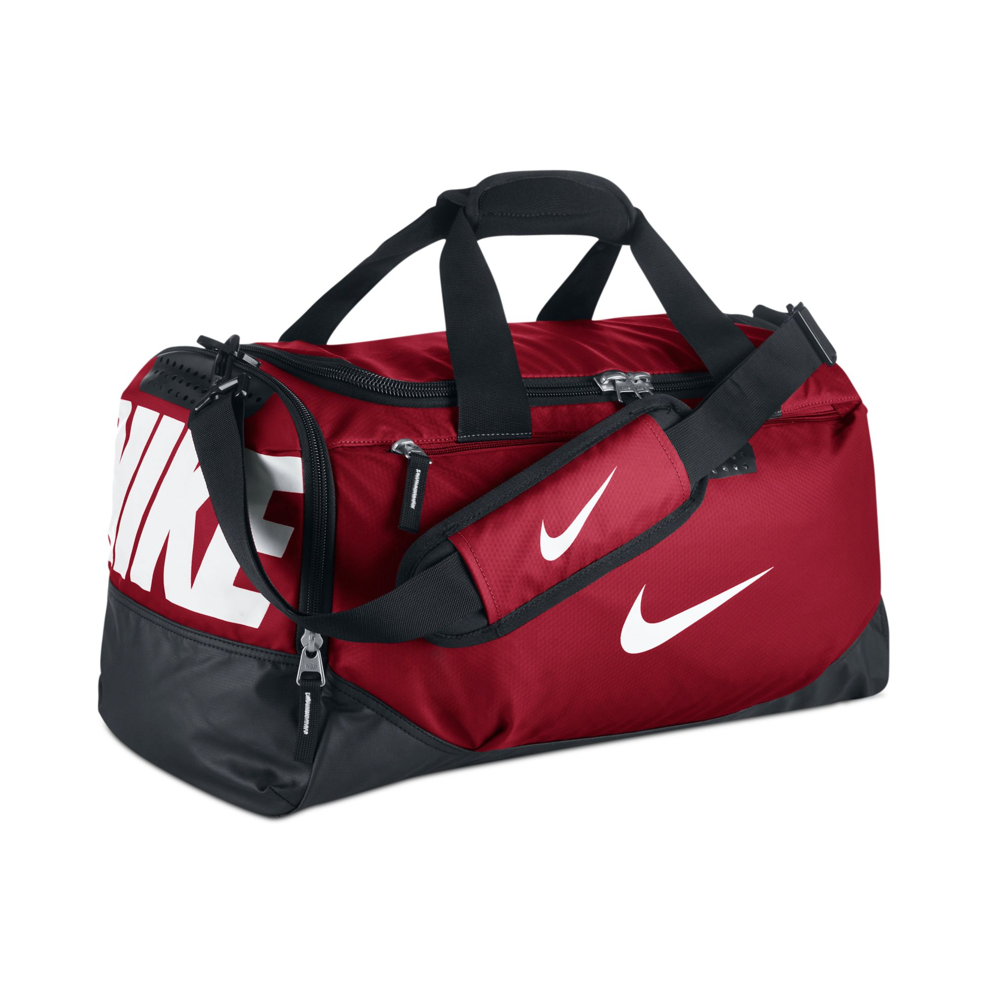 Lyst - Nike Team Training Small Duffle in Red for Men 59b35174e1