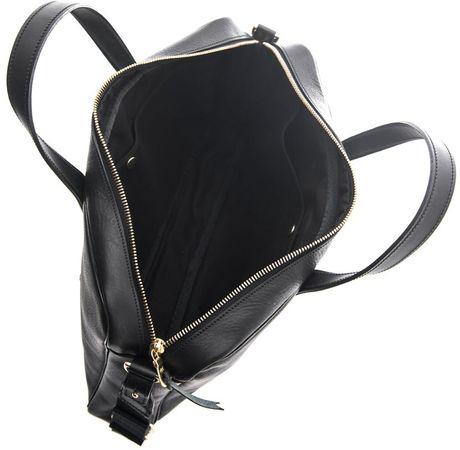 bill amberg hunter leather briefcase in black for men lyst. Black Bedroom Furniture Sets. Home Design Ideas