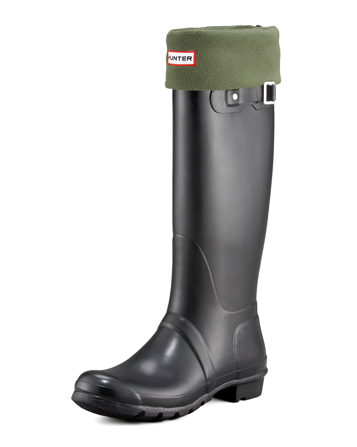 Hunter Original Tall Rain Boot In Black For Men Lyst