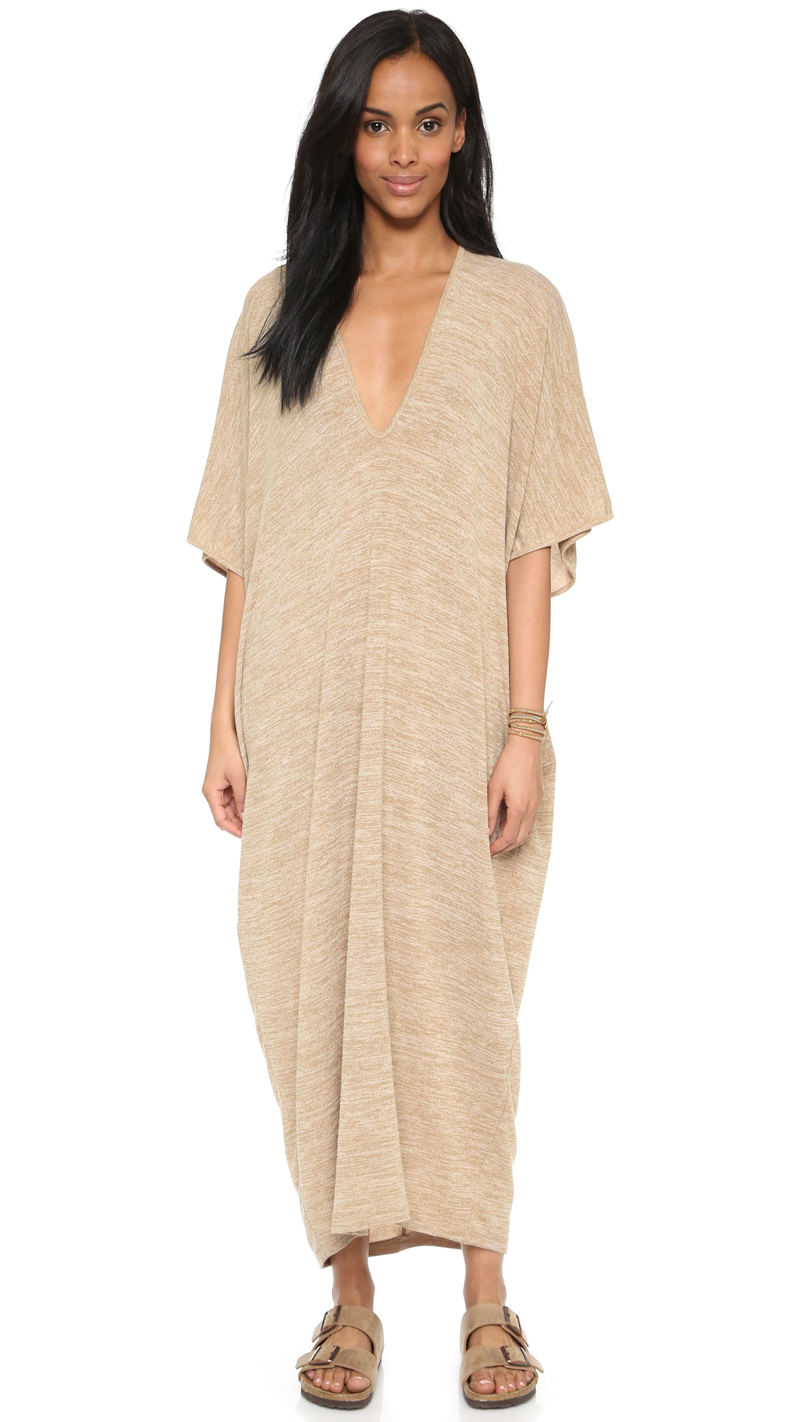Riller and fount caftan maxi dress