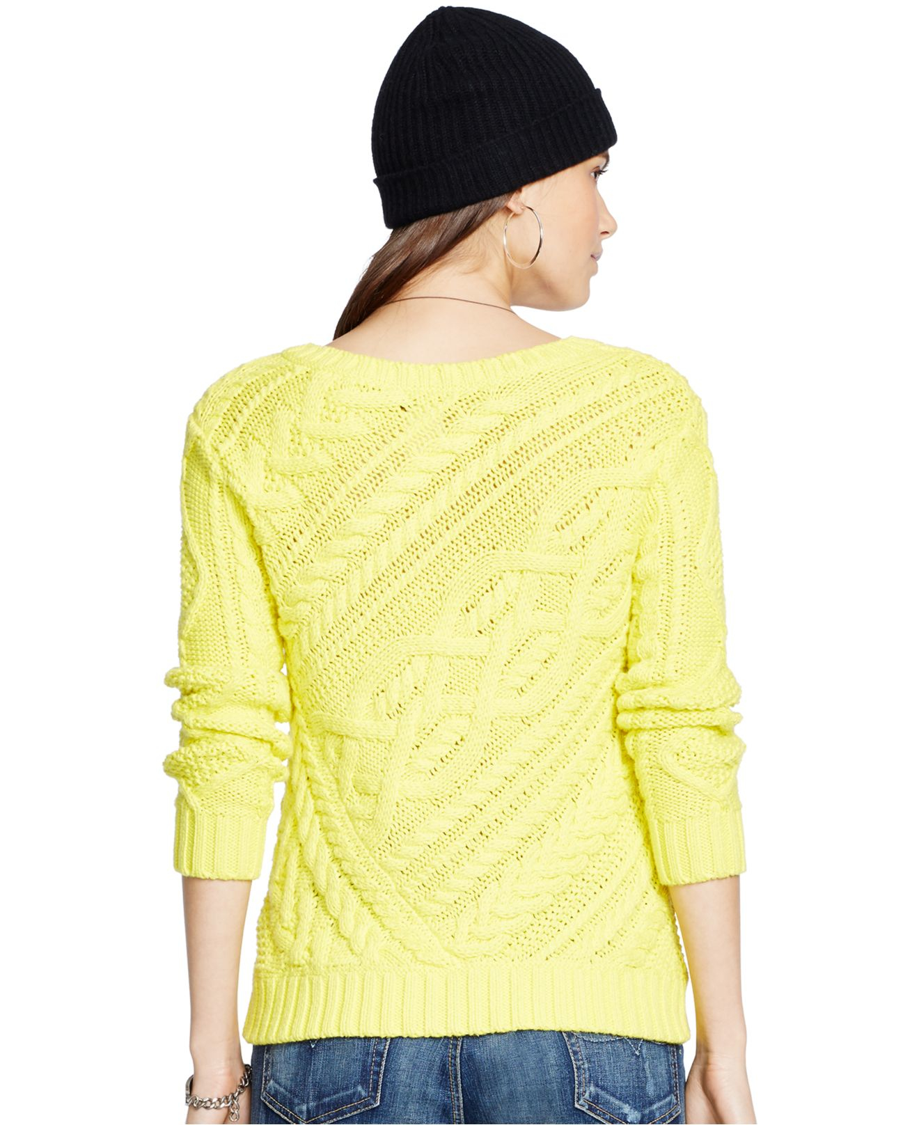 Gallery. Previously sold at: Macy's · Women's Cable Knit Sweaters