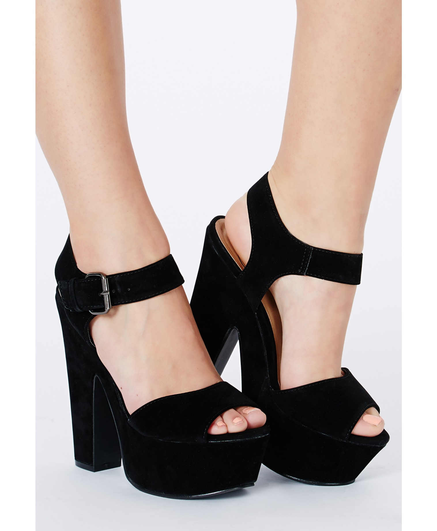 Black sandals missguided - Gallery