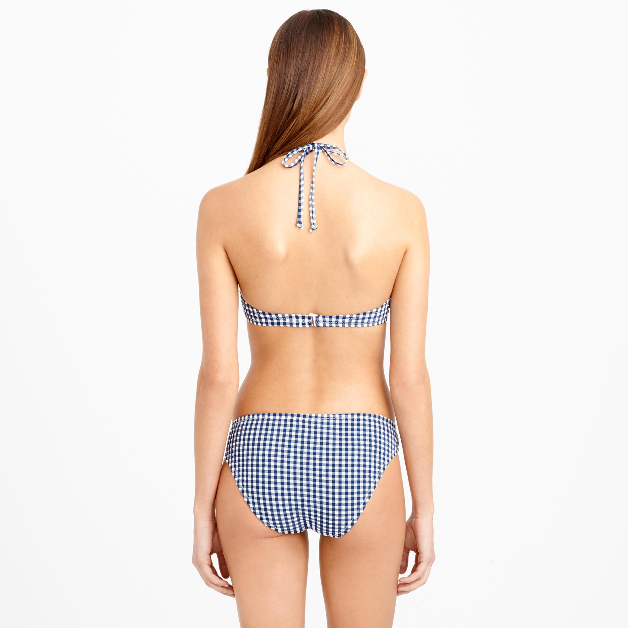 Blue Gingham Bikini 102