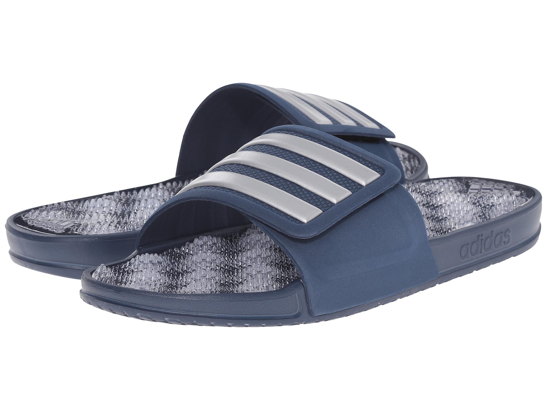 0d51298b140b Lyst - adidas Originals Adissage 2.0 M Stripe in Blue for Men