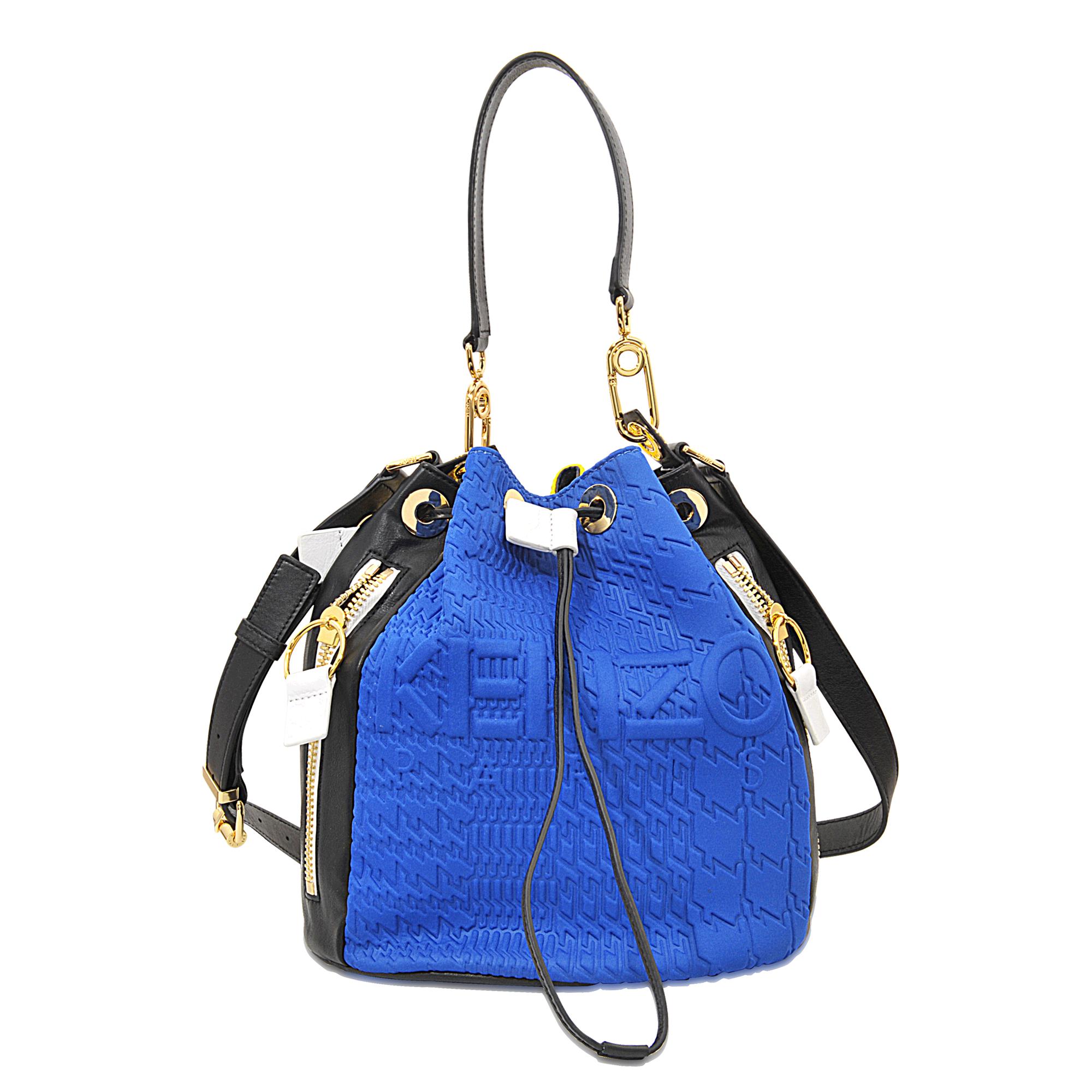 b70ee55a KENZO Kombo Bucket Bag in Blue - Lyst