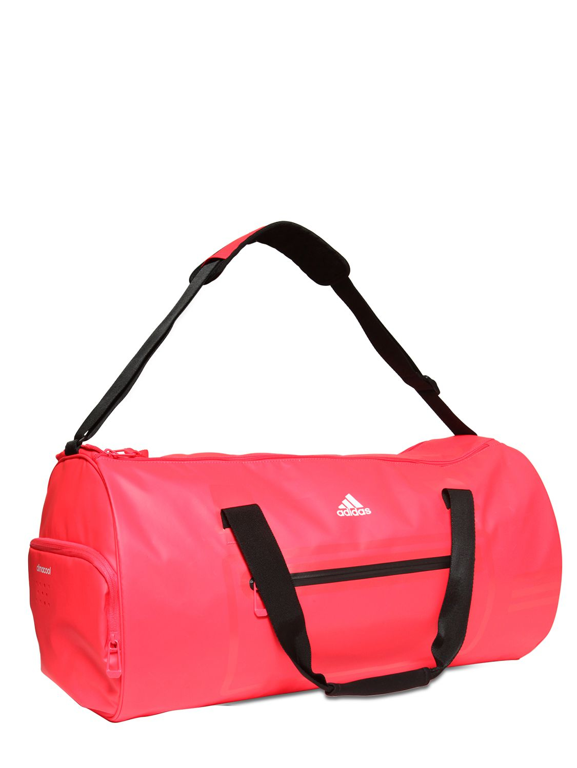 a3c471ac5b0 adidas Originals Water Repellent Coated Nylon Duffle Bag in Red - Lyst