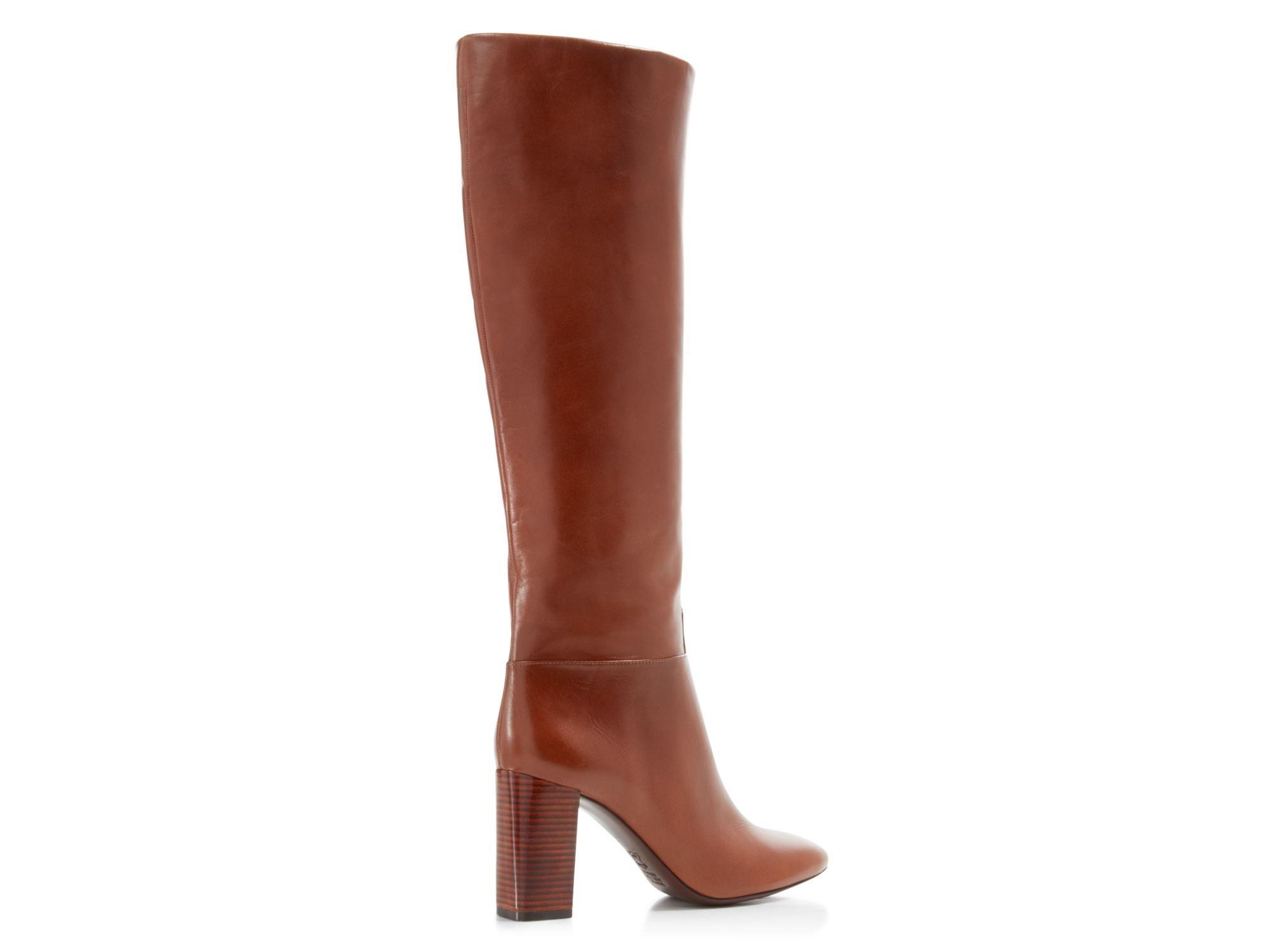 460704349d0 Lyst - Tory Burch Devon High Heel Tall Boots in Brown