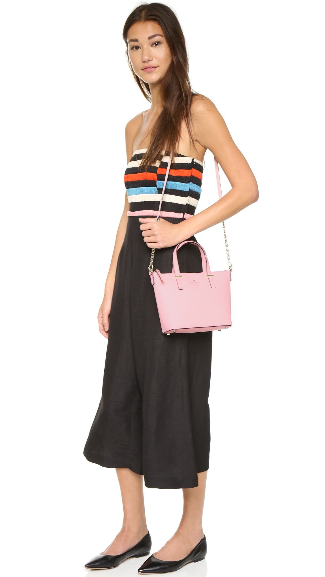 Lyst Kate Spade Harmony Cross Body Bag In Pink