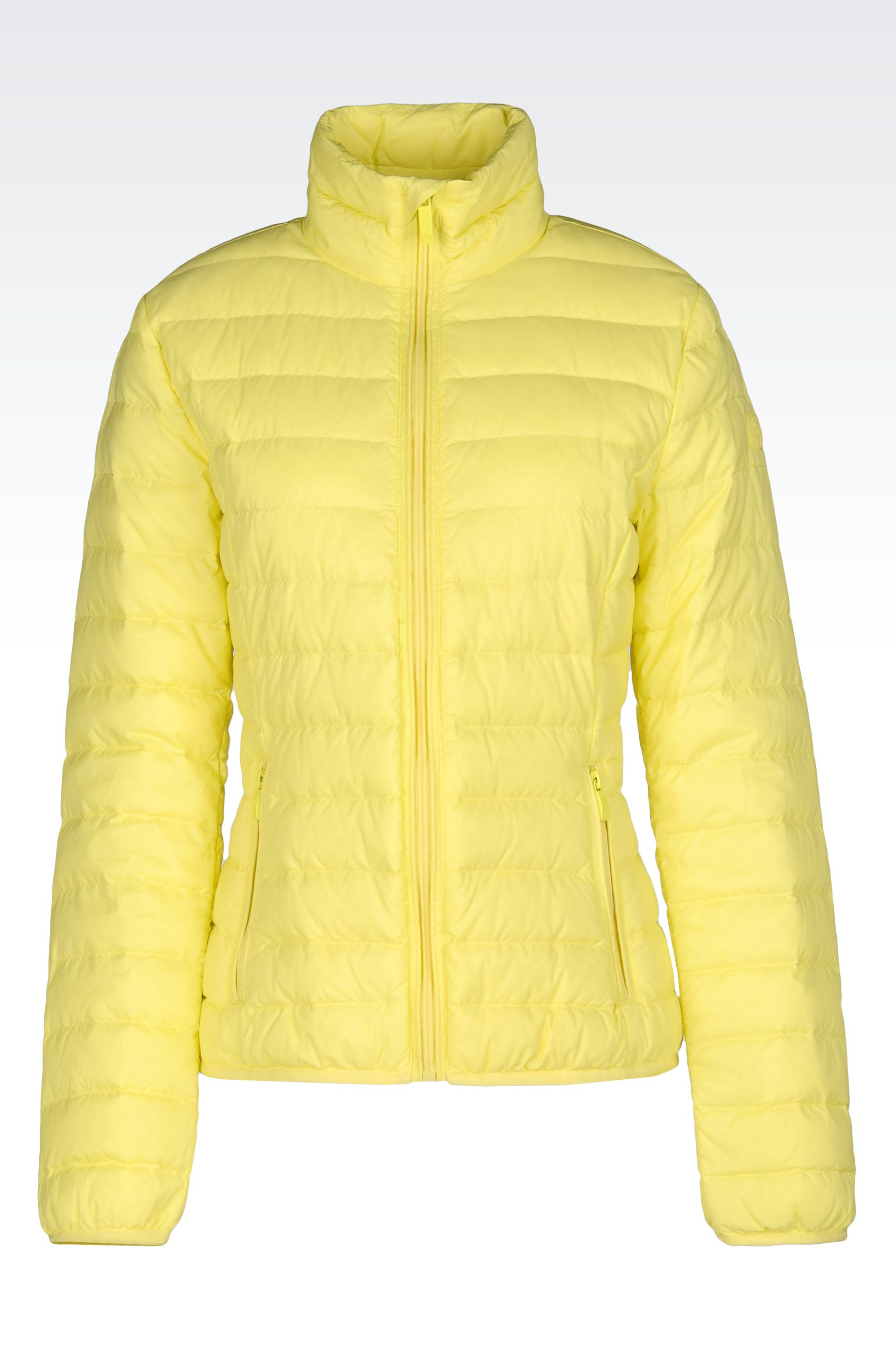 Armani Jeans Ultra Light Down Jacket With Special