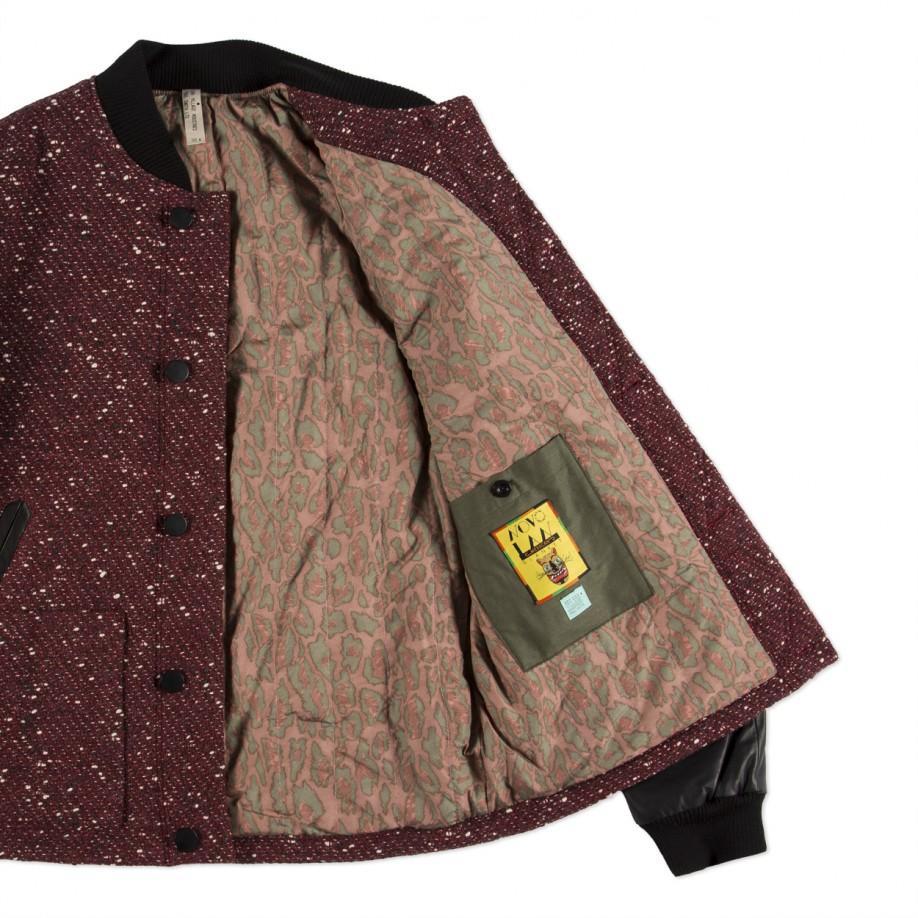 Paul Smith Woolblend Mexican Blanket Bomber Jacket In
