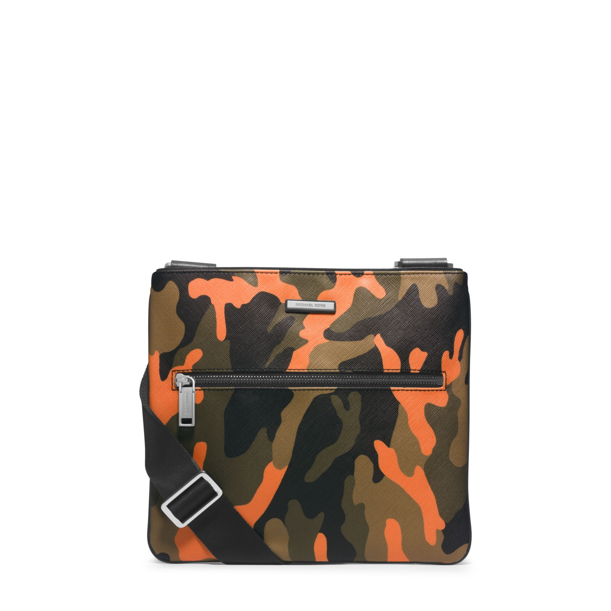 054c454bf1a8 ... cheap lyst michael kors jet set mens camouflage small crossbody in  f4974 34231