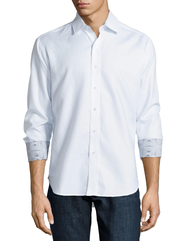 Robert graham vienna long sleeve woven sport shirt in for Robert graham sport shirt
