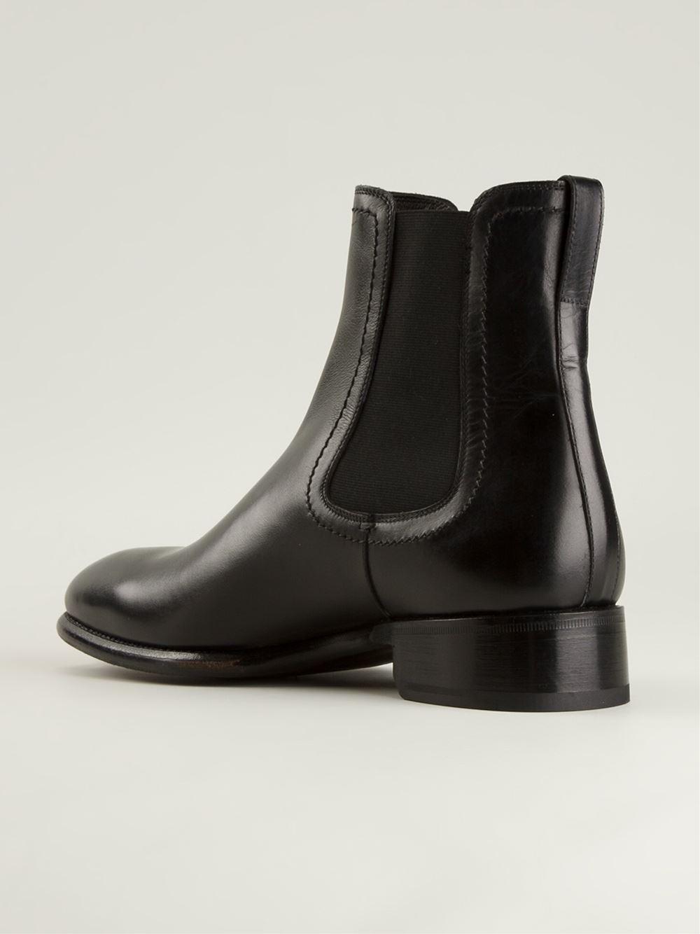 86153052edea Lyst - Max Verre Classic Chelsea Boots in Black for Men