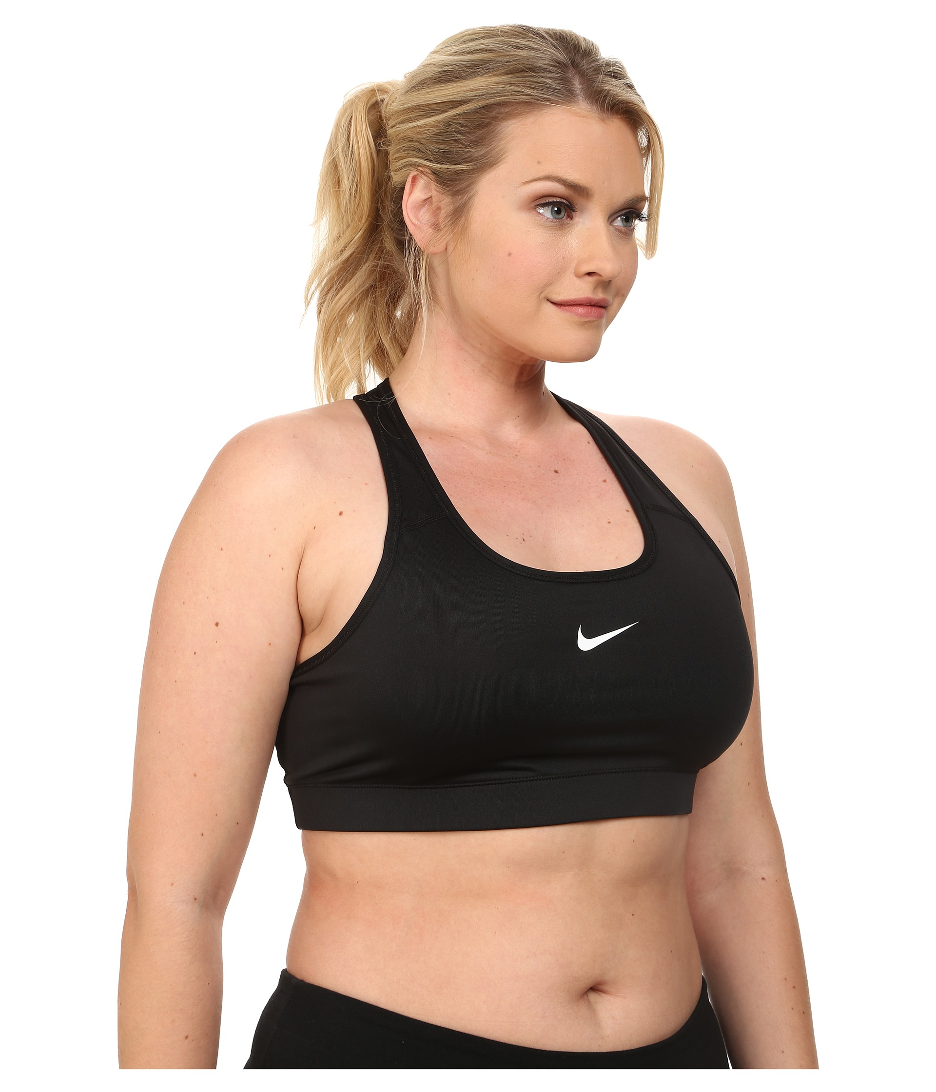 eac840ea57 Lyst - Nike Pro Victory Compression Sports Bra (2xl 3xl) in Black