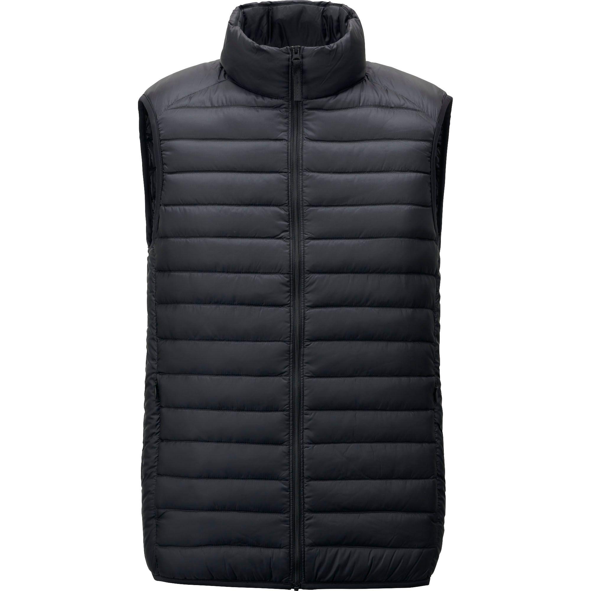 Uniqlo Men Ultra Light Down Vest In Black For Men Lyst