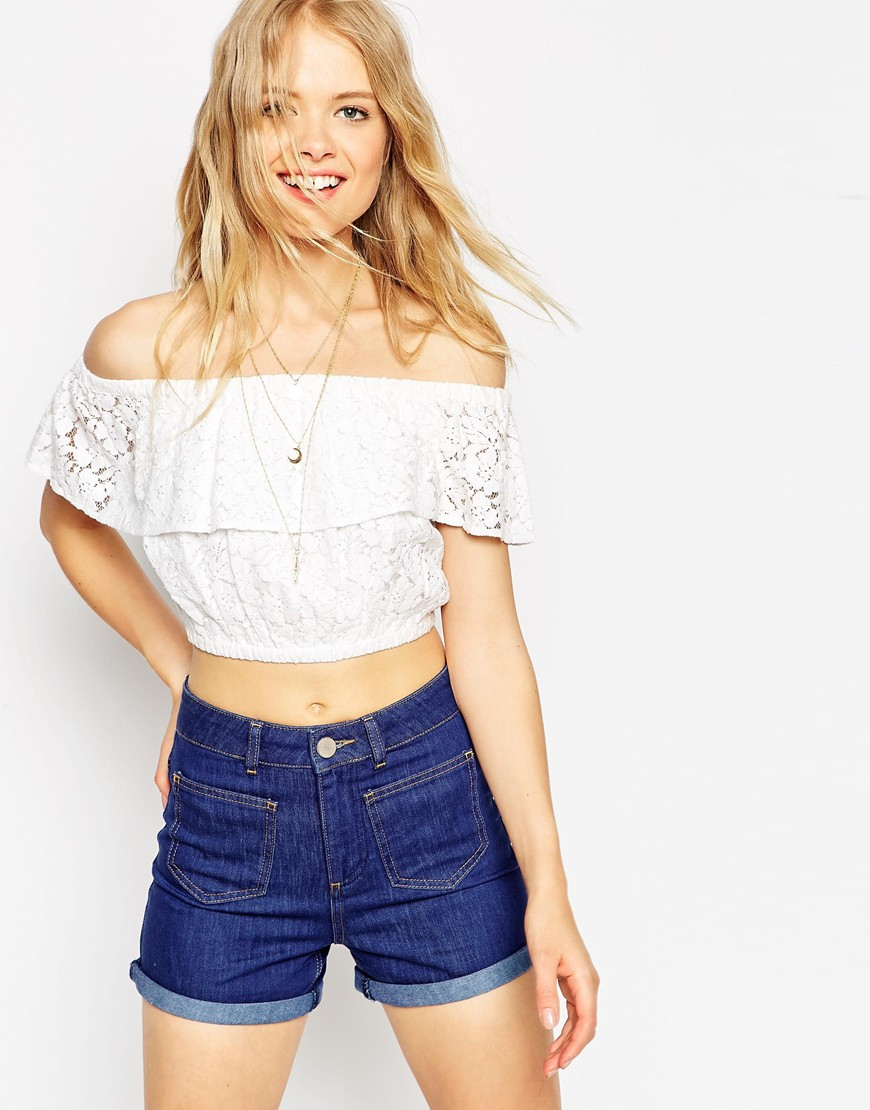Stitch fix spring fashion trends Off shoulder floral top white jeans oversized sunnies nude tote(Off The Shoulder Top Outfit) Take the stress out of shopping for clothes & ask your Stitch Fix stylist to send you items like these.