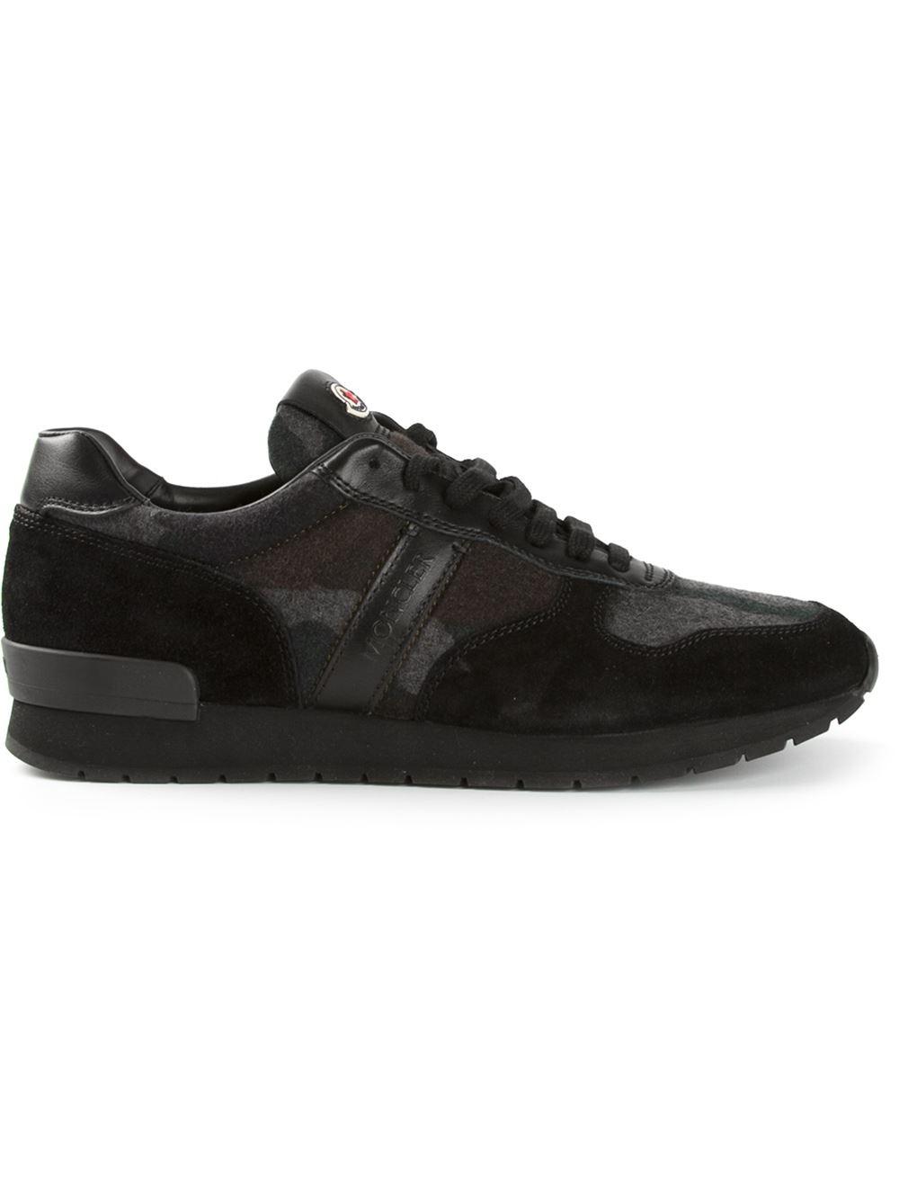 moncler trainers black