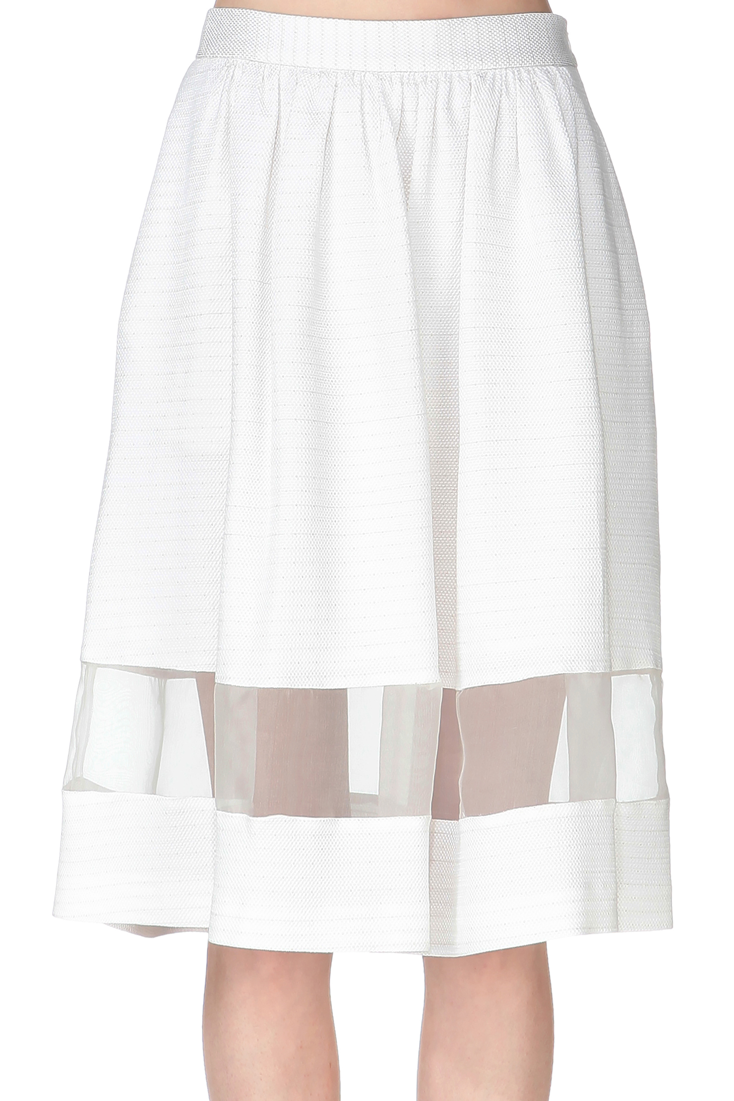 paul joe midi skirt maxi skirt in white lyst