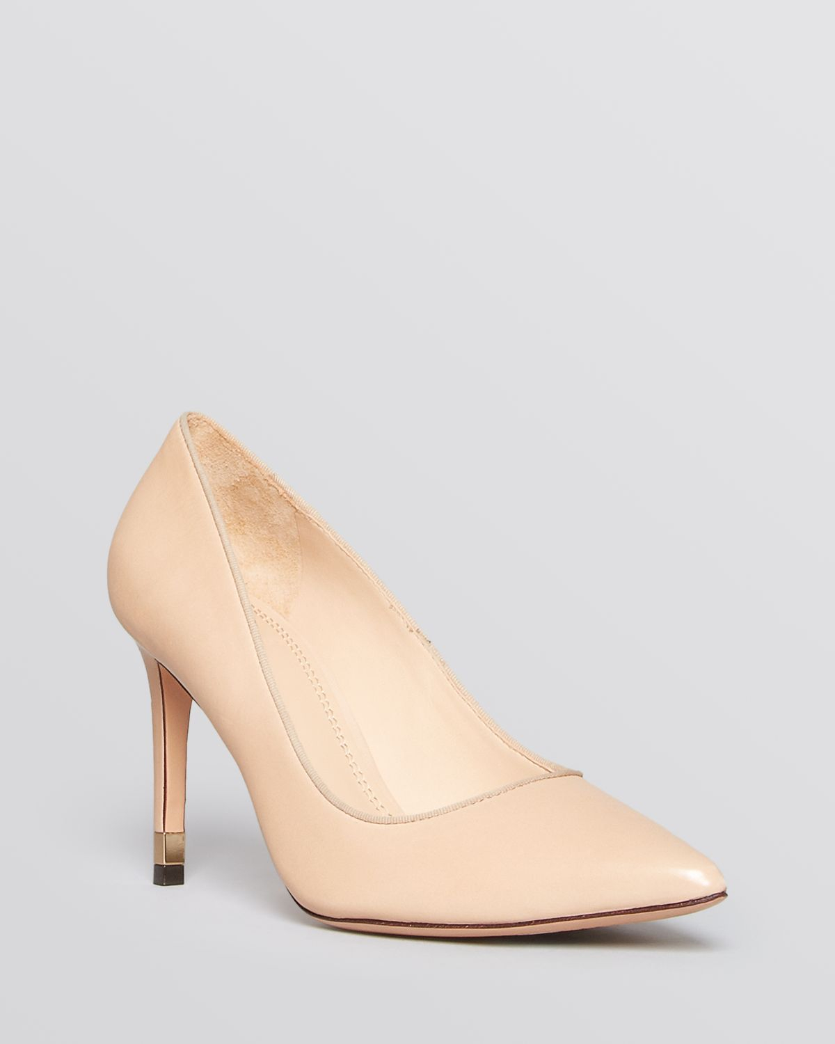 discount comfortable outlet purchase Tory Burch Embossed Leather Pointed-Toe Pumps nicekicks cheap price p3Gr7
