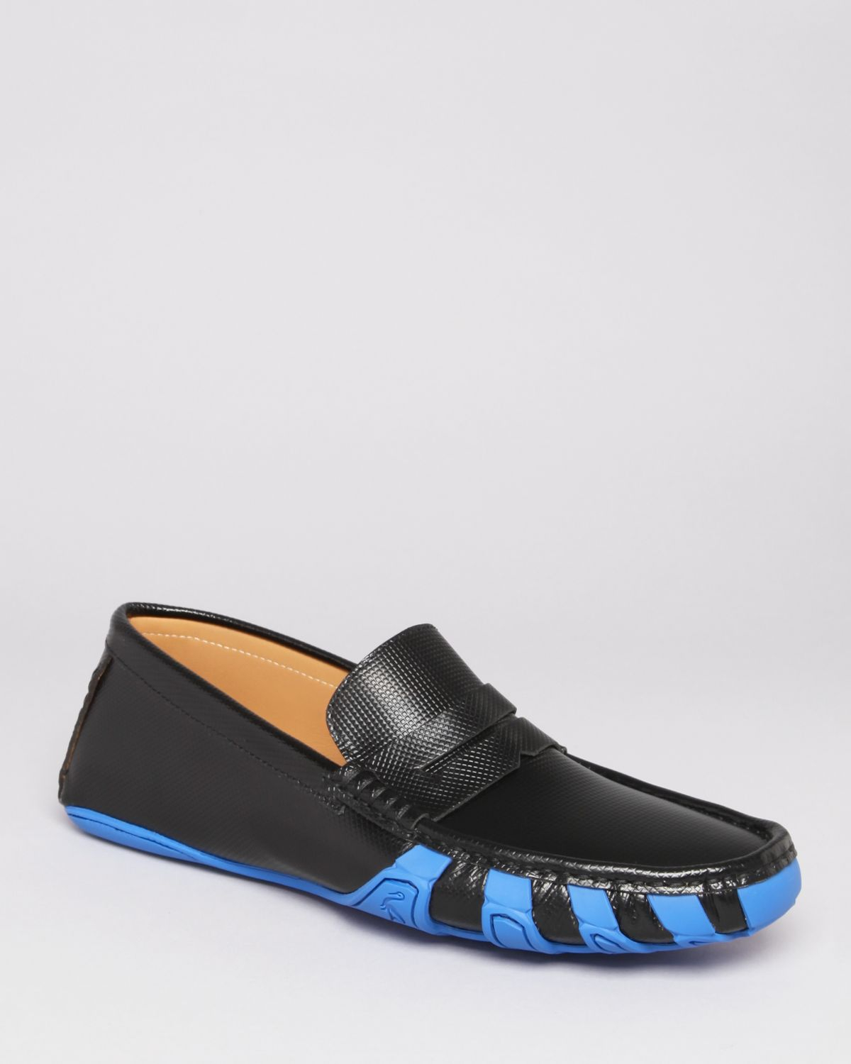 17058c0ef32 Lyst - Harry s Of London Jet Penny Driving Loafers in Blue for Men