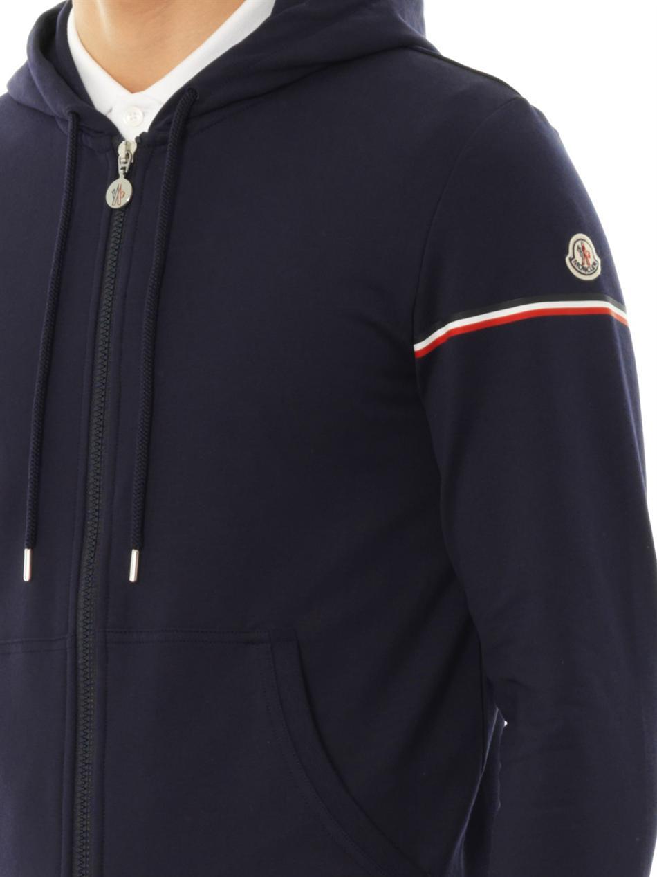 moncler hoodie navy