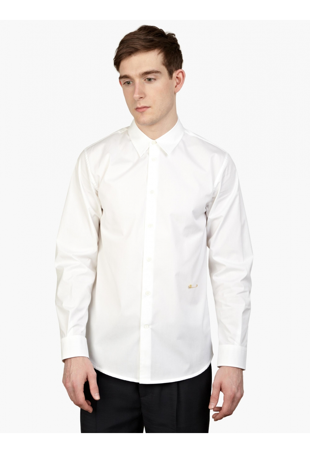 Marc jacobs Men's White Slim-fit Cotton Shirt in White for ...