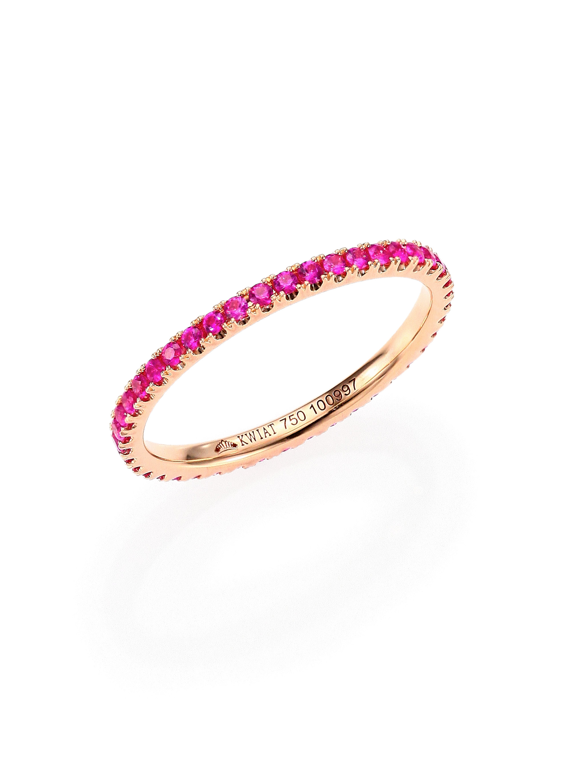 wedding created bands rings img best of band sapphire pink eternity lab