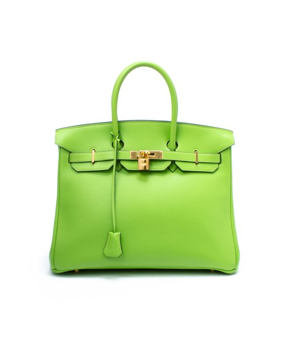 2cced7be79 ... order lyst hermès preowned apple green veau gulliver birkin 35 bag in  green c6fcf 19dbd ...