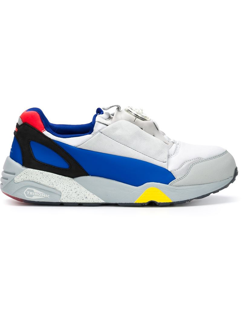 baec82fc0602d4 Lyst - Alexander McQueen X Puma  mcq Disc  Sneakers in Blue for Men