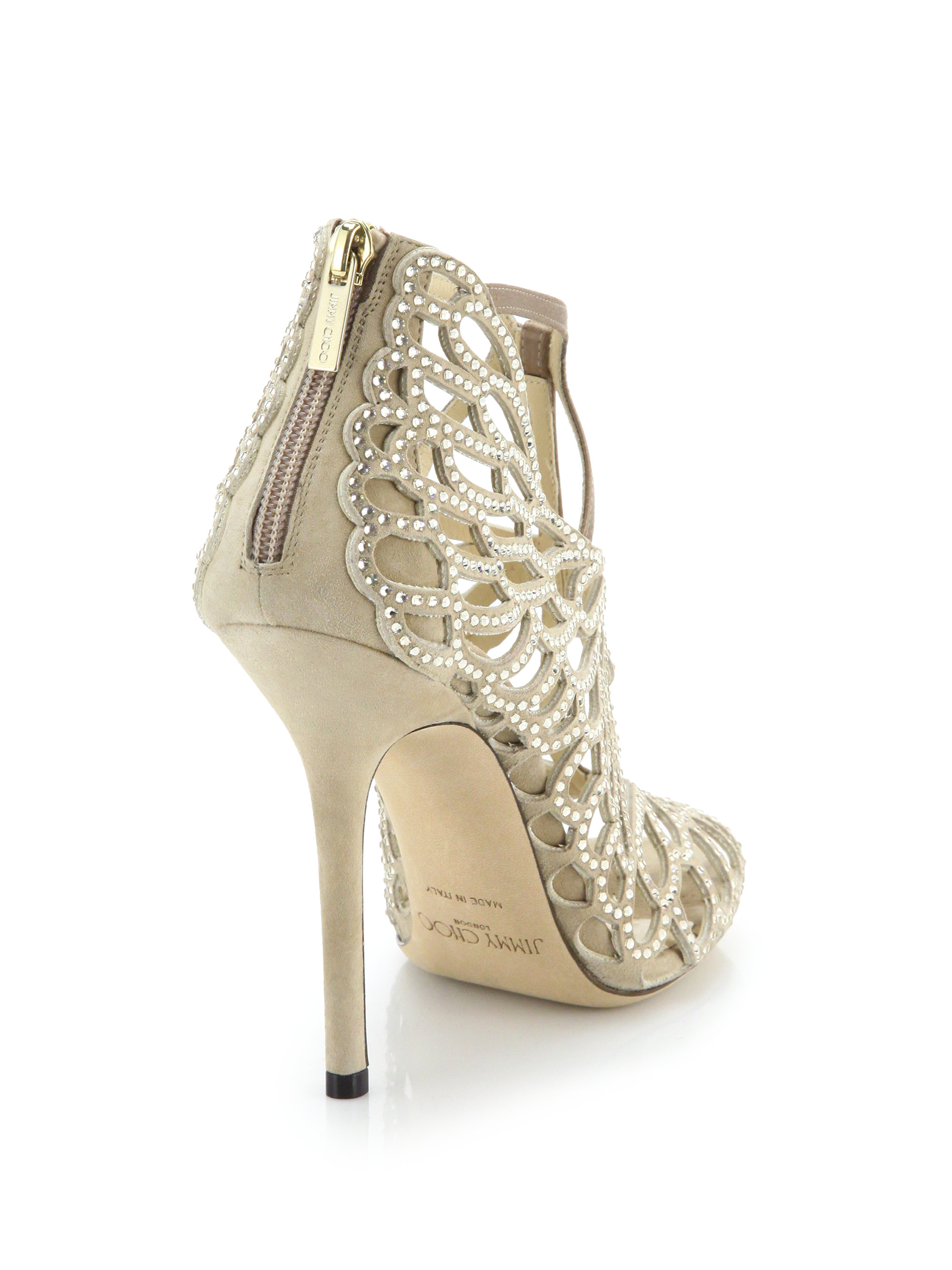 Jimmy Choo Embellished Cage Sandals the cheapest online sale browse fast delivery cheap sale visa payment outlet discount O1tSCKXX1