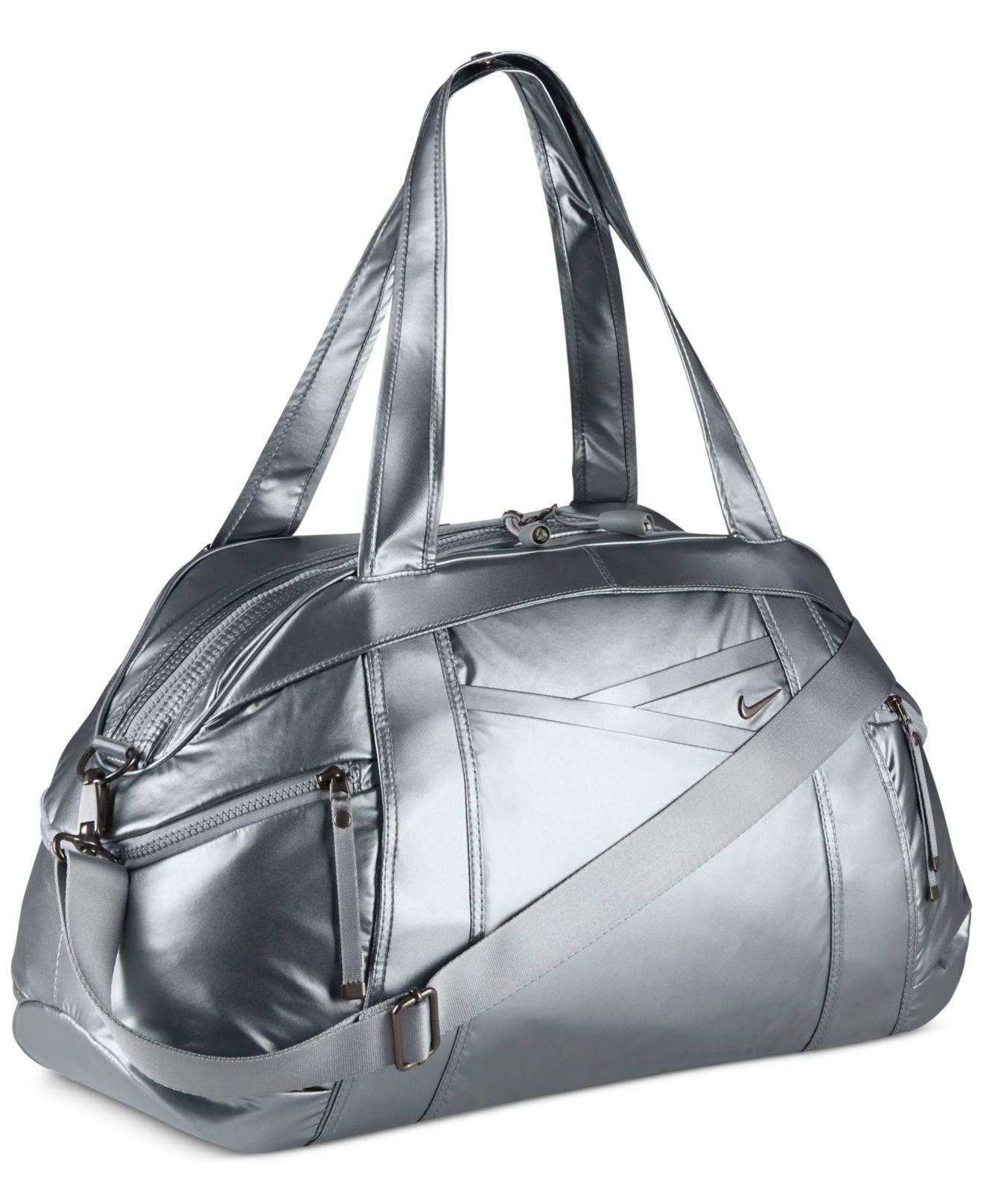 In Lyst Victory Bag Duffel Club Metallic Gray Gym Nike qB7qw6U