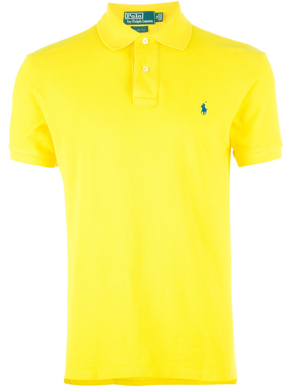 Polo Ralph Lauren Polo Shirt In Yellow For Men Lyst