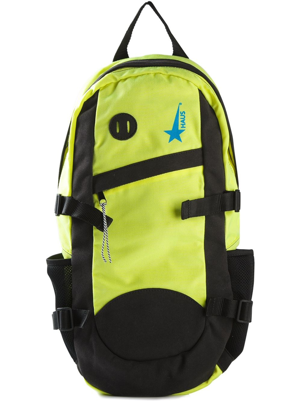 Haus by golden goose deluxe brand buckled backpack in for Haus formen
