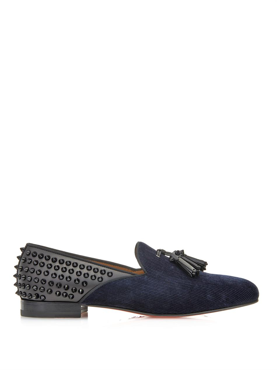 christian louboutin men loafers