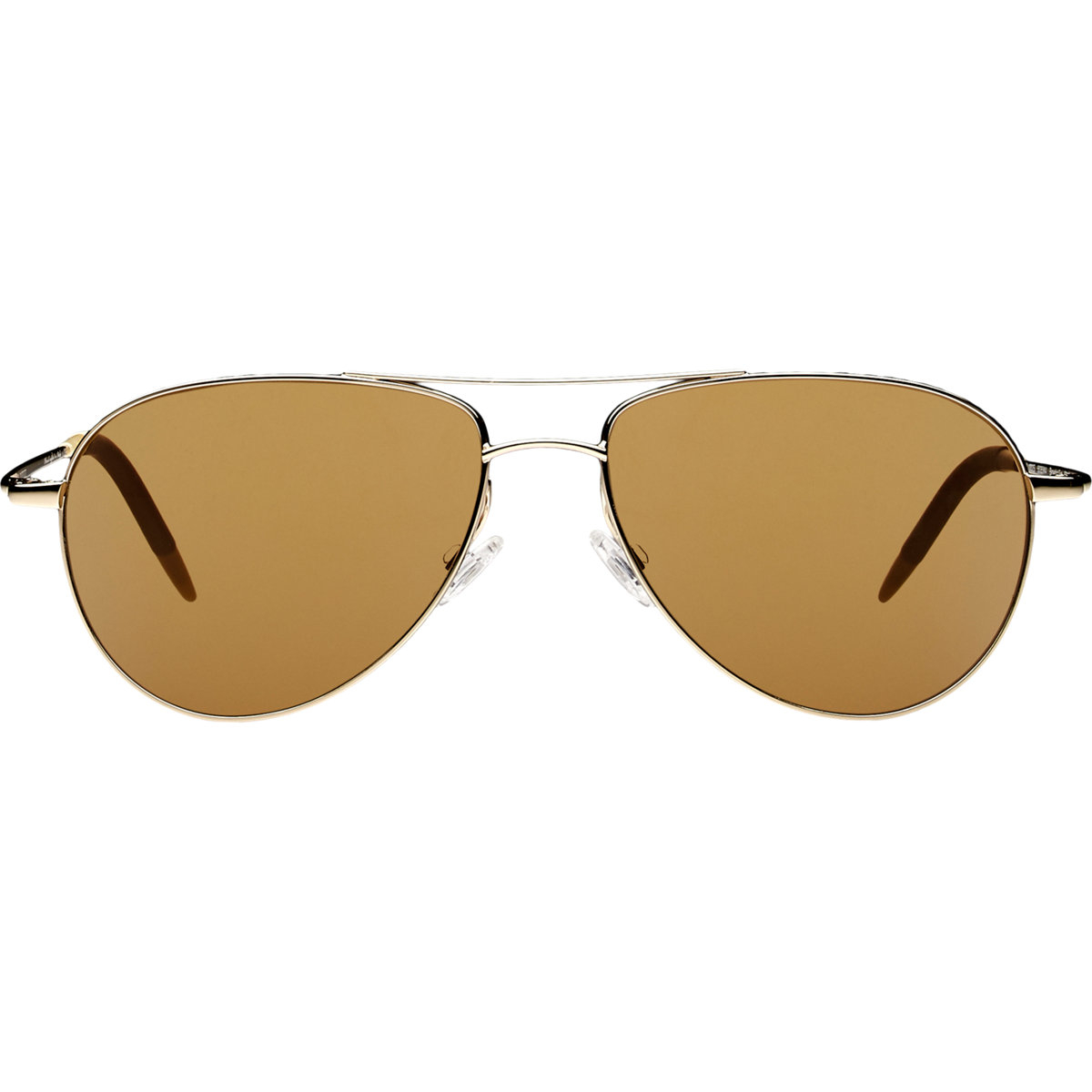 fc53a21108f6 Oliver Peoples Green Mirrored Aviator Sunglasses