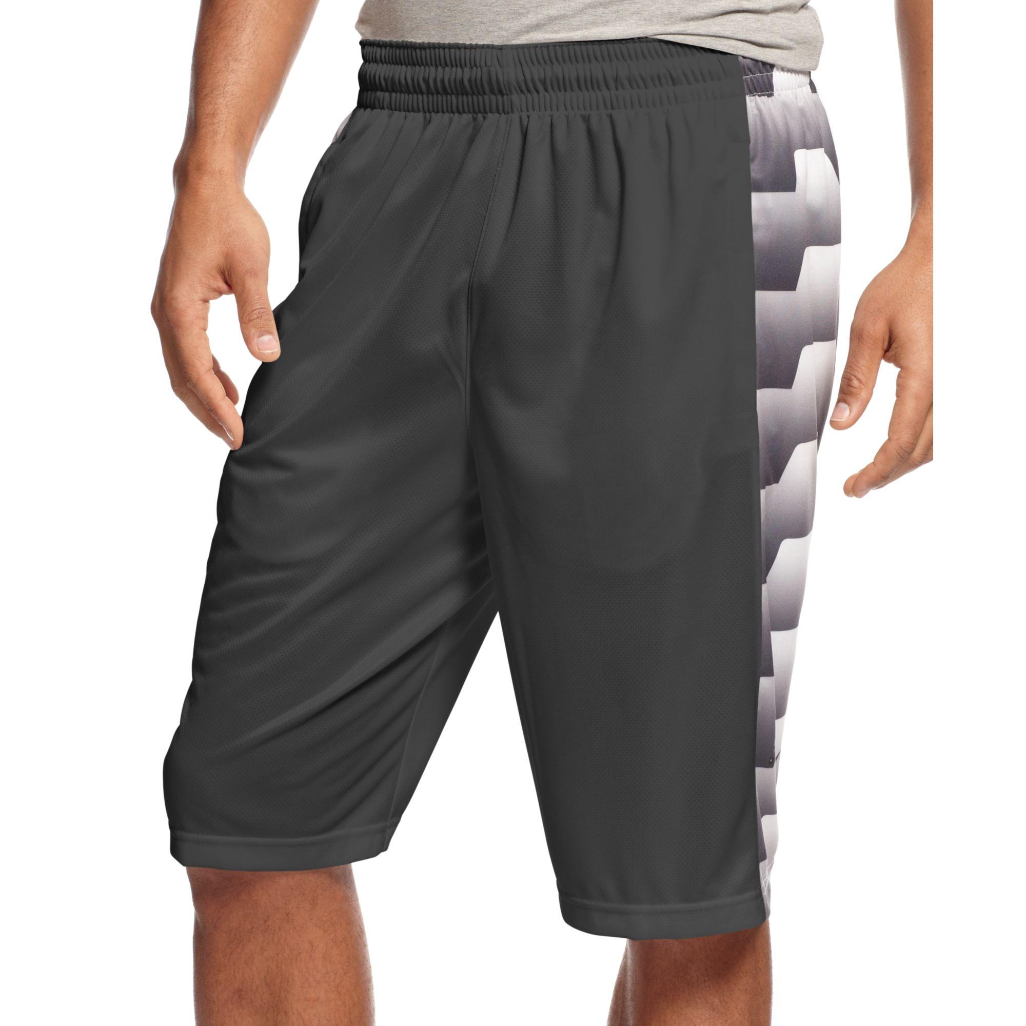 Nike Lebron Brutal Basketball Shorts in Black for Men ...
