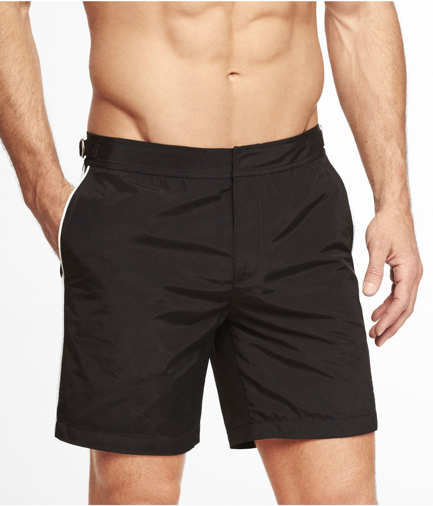Lyst - Express 7 Inch Tailored Small Lion Swim Shorts in ...