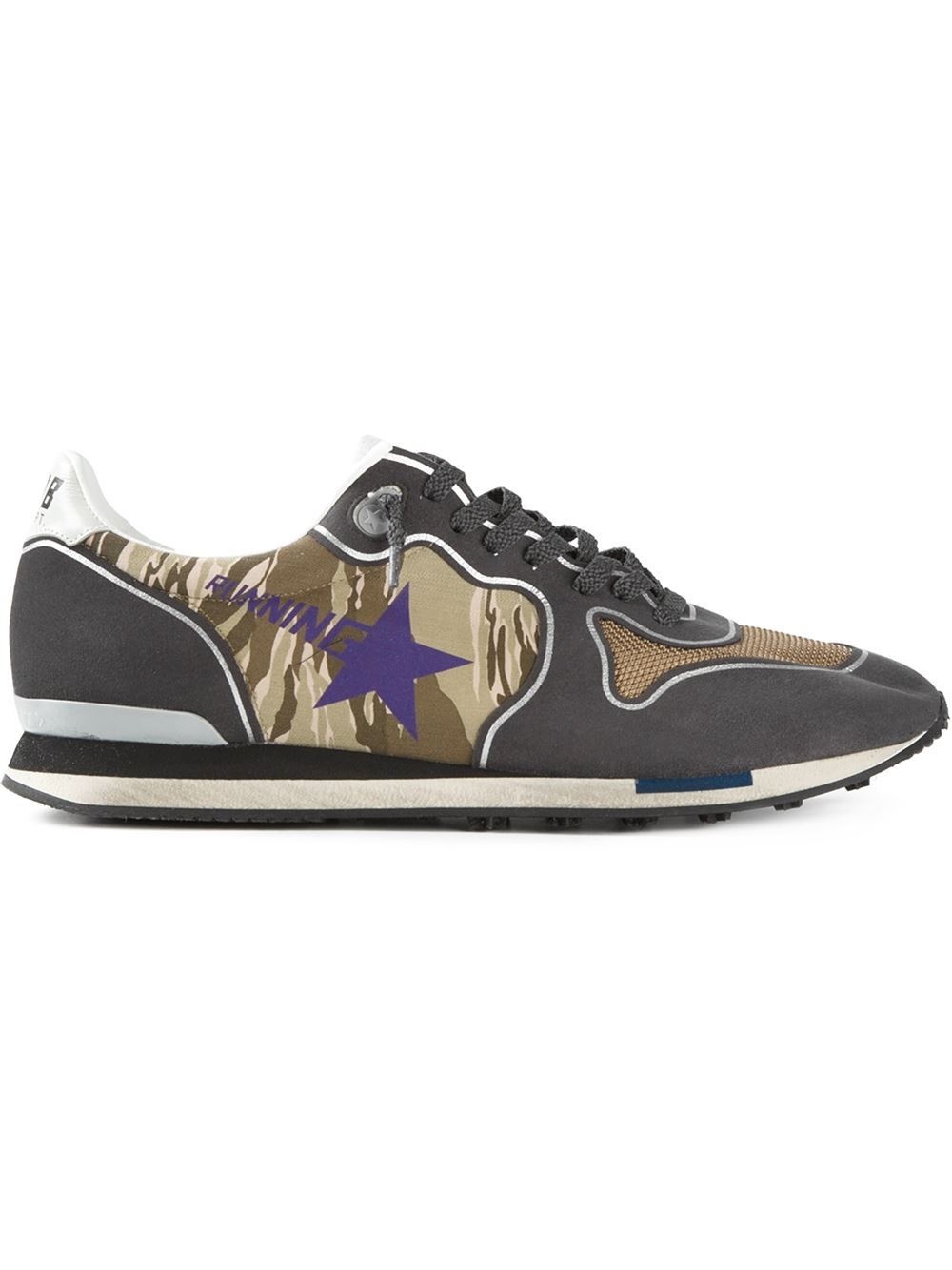 golden goose deluxe brand running sneakers in black for