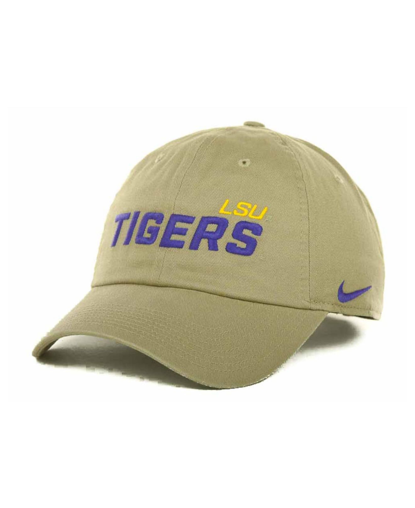 3f15c68eb770c ... usa lyst nike lsu tigers heritage 86 campus cap in natural for men  3614e 8218c