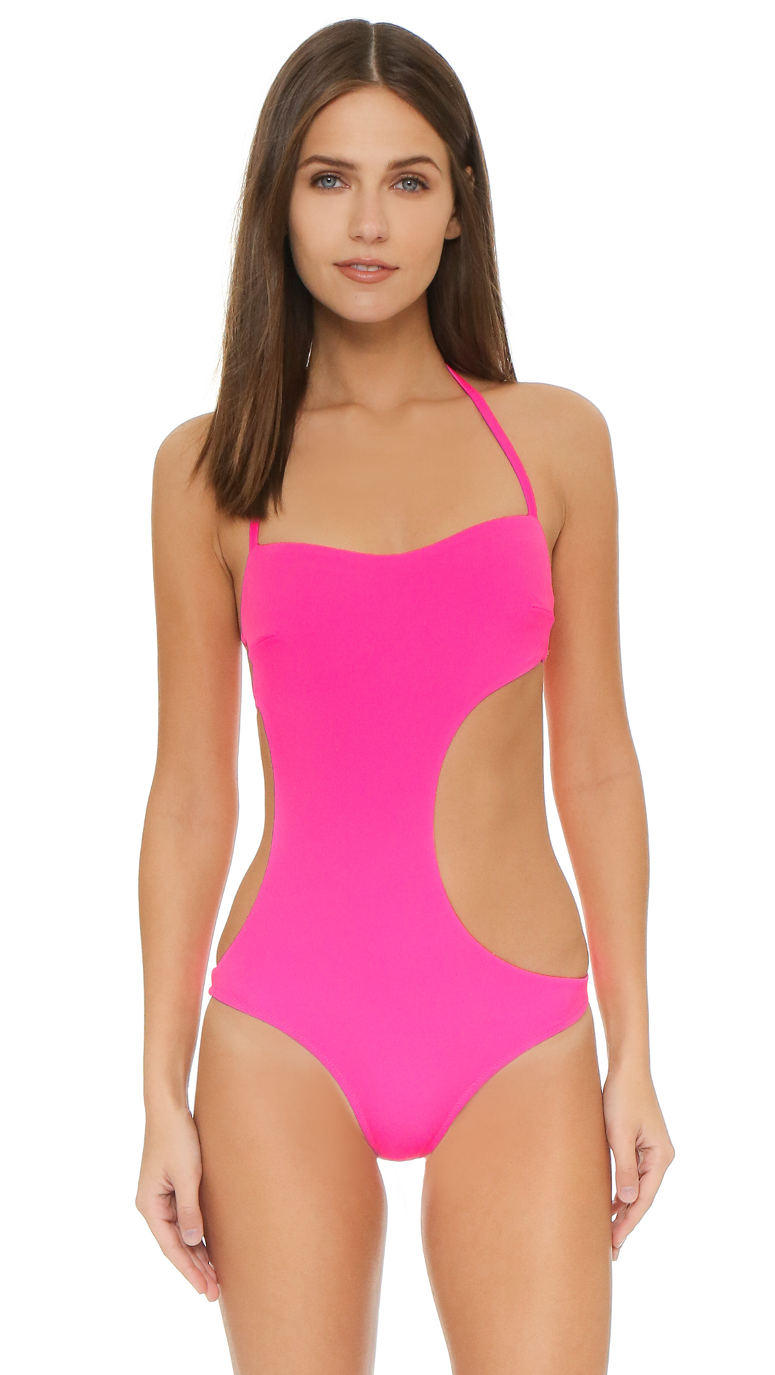 2ff3622f07b5e L'Agent by Agent Provocateur Agata Swimsuit in Pink - Lyst